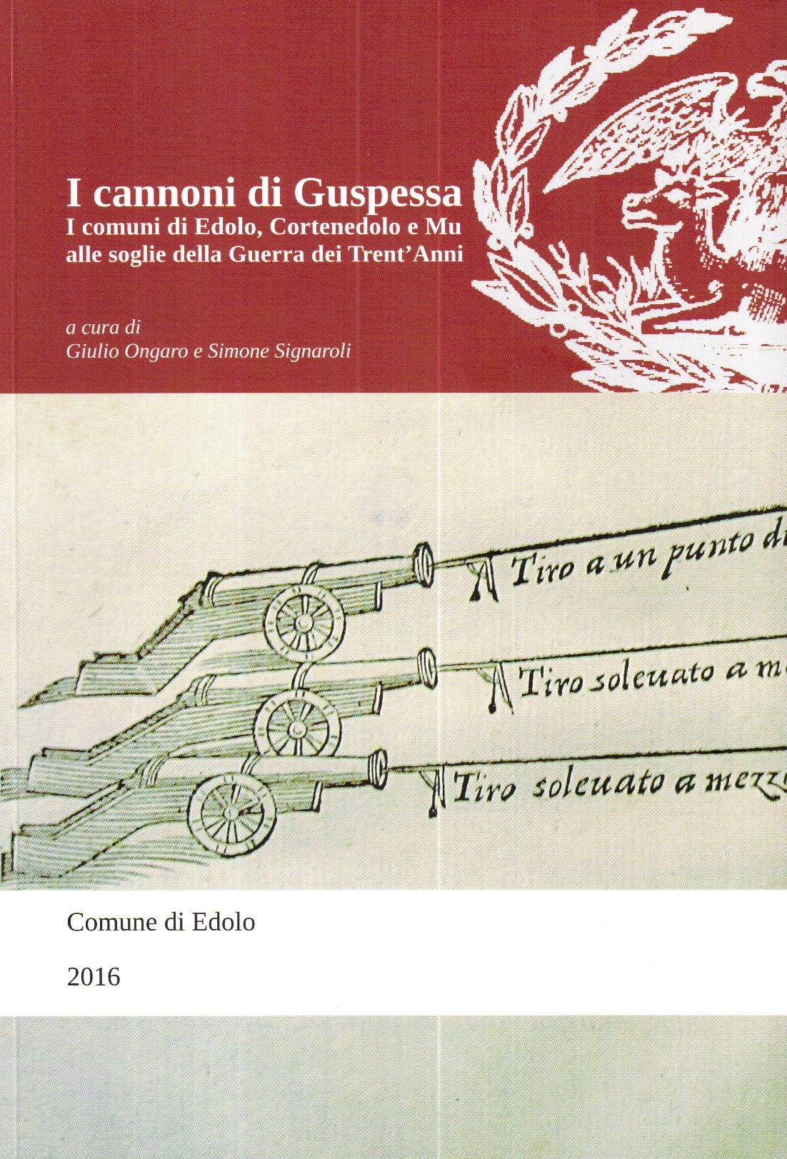 Cannoni di Guspessa Copertina