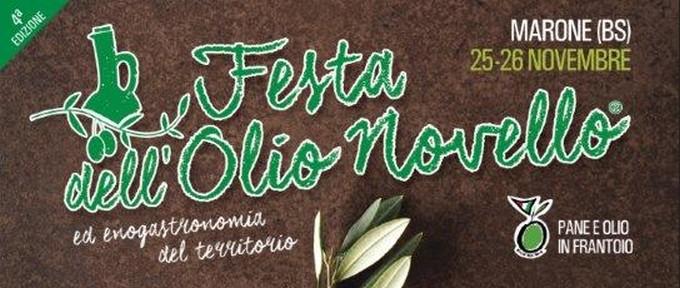 Marone, nel fine settimana torna la Festa dell'olio novello