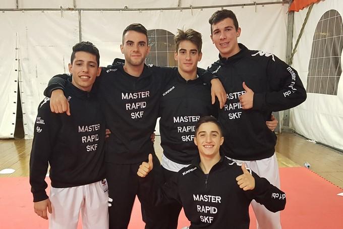 Gli alteti della Master Rapid SKF CBL portano a casa 10 medaglie dalla Venice Cup
