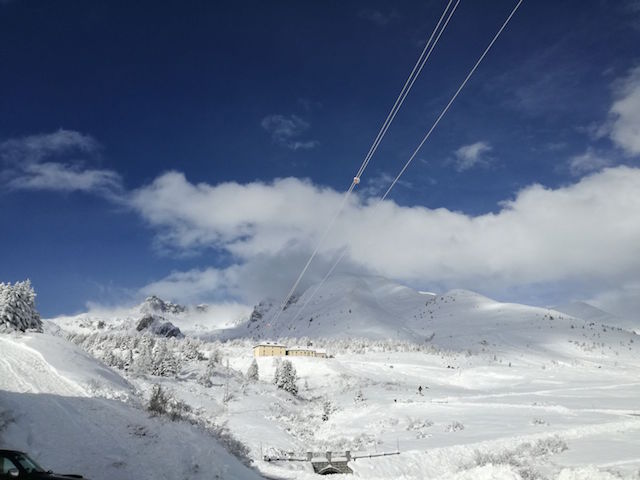 Neve sul Presena: da sabato aprono le piste