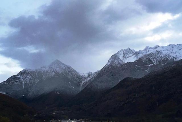 Piogge da sabato sera e prime nevicate in quota