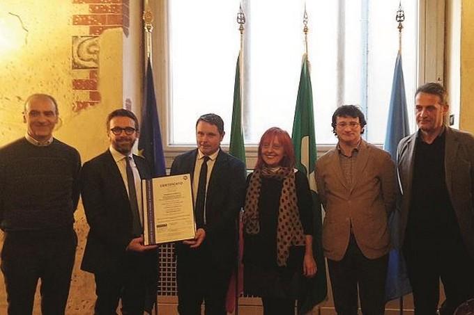 La Provinicia di Brescia prima in Italia a ricevere la certificazione ISO 9001 per la Stazione Appaltante