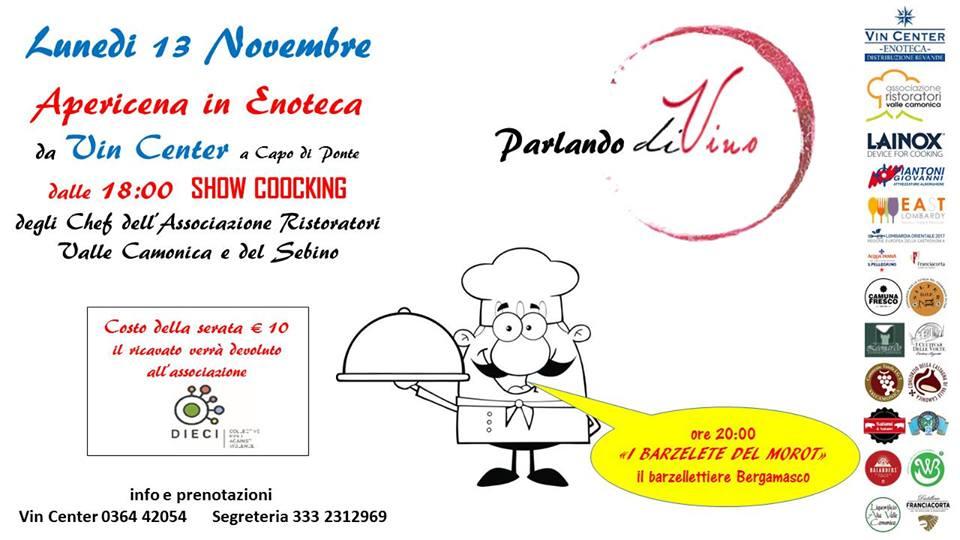 Vivilavalle – Gli appuntamenti del 13 novembre 2017