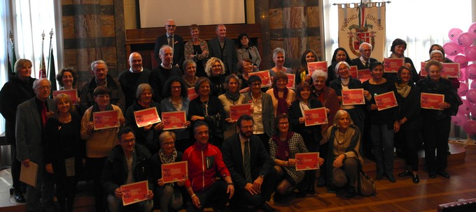 Ats della Montagna, chiusura del Mese in Rosa a Sondrio con tutte le associazioni e gli enti che hanno collaborato