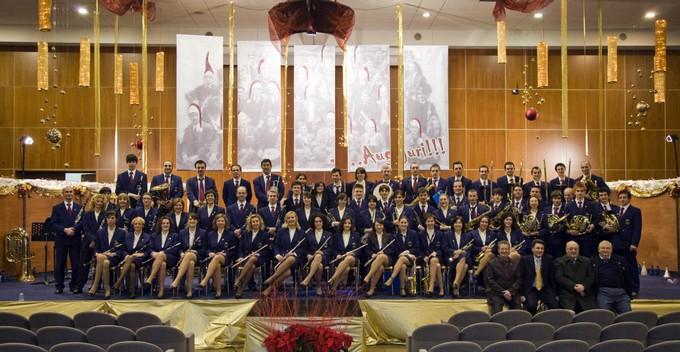 Unione Nazionale Cavalieri d'Italia, attestato di benemerito per la Banda cittadina di Darfo