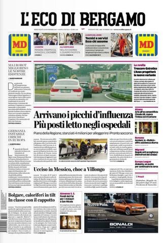 Rassegna stampa quotidiani locali 22 novembre 2017