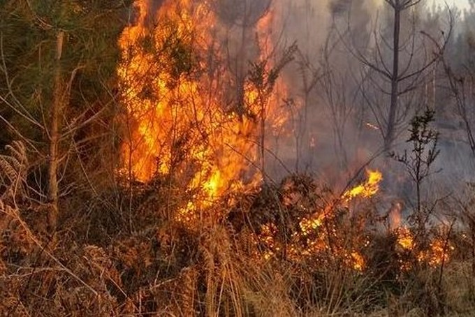 Valsaviore, allarme incendi in un periodo di grande siccità