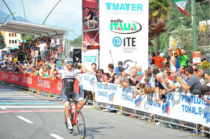 Darfo Boario Terme si candida per i Campionati nazionali professionali di ciclismo del 2018