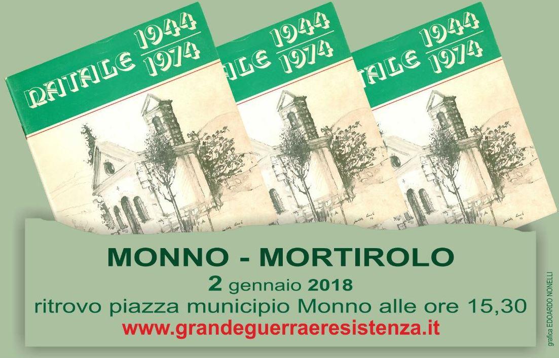 Una fiaccolata da Monno al Mortirolo per rievocare la messa celebrata la notte di Natale del '44 da don Antonioli