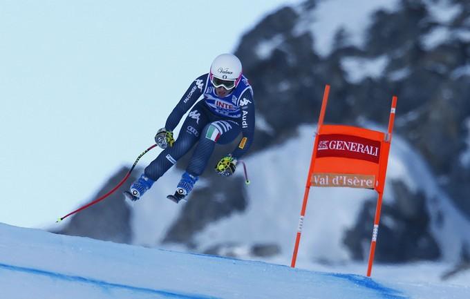 Nadia Fanchini pronta per le Olimpiadi invernali