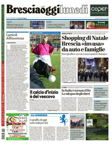 Rassegna stampa quotidiani locali 18 dicembre 2017