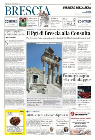 Rassegna stampa quotidiani locali 6 dicembre 2017