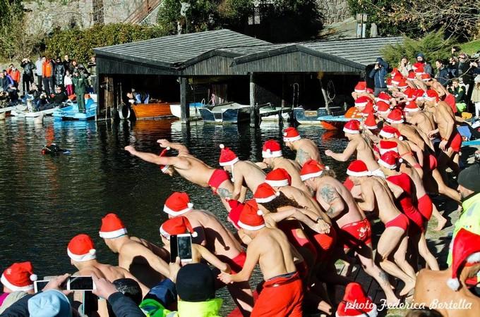 Lago Moro, sabato torna il tradizionale Tuffo della Befana
