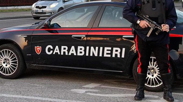 Statale 42, maxi posto di blocco di carabinieri e carabinieri forestale