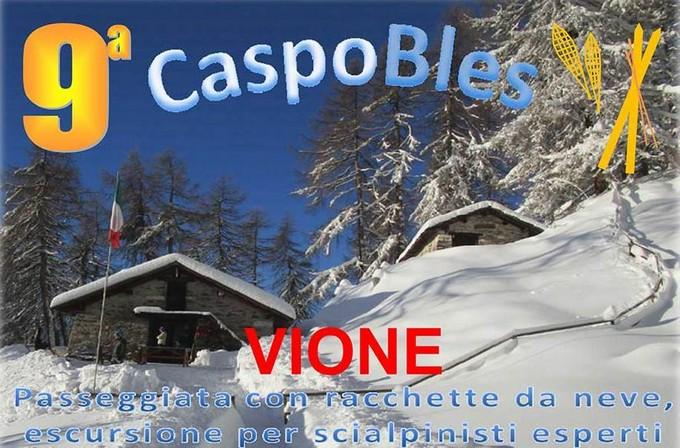 Vione: tutto pronto per la CaspoBles. Neve compresa