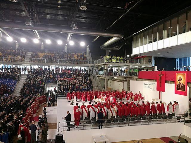 Folta rappresentanza camuna sabato 3 febbraio alla cerimonia di beatificazione di Teresio Olivelli