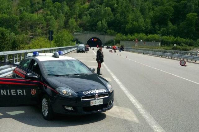 Carabinieri, posti di blocco nel fine settimana lungo la Statale 42