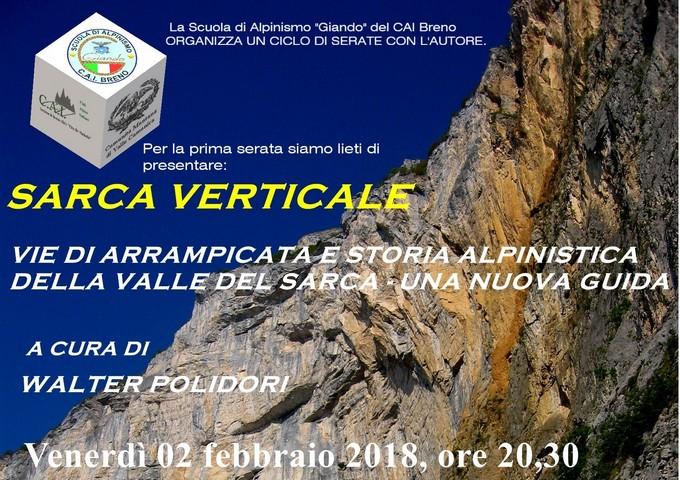 """La scuola di alpinismo del CAI di Breno festeggia i 25 anni con tre serate """"in parete con l'autore"""""""