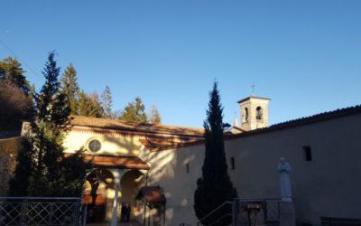 L'Annunciata attende il Saio di Padre Pio, da Losine a Cerveno la Via Crucis