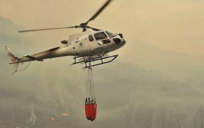 Nuovo Piano AIB della Regione: un elicottero permanente a Darfo