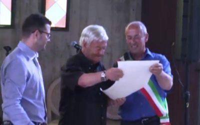 Enrico Musiani cittadino onorario di Lozio