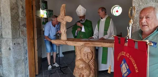 L'Avis di Cerveno ha inaugurato la chiesetta sul Monte Arsio
