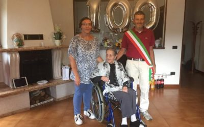 A Niardo festa per i 100 anni di Angela Chiappini