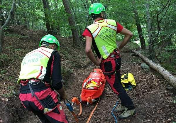 Malore nel bosco e caduta per funghi: gli interventi del Cnsas stazione di Breno
