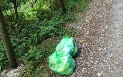 Esine, fioccano multe per abbandono di rifiuti