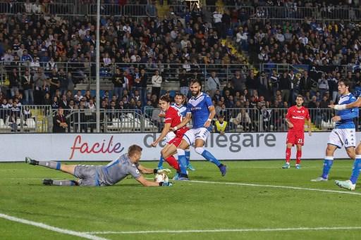 Brescia, un punto utile contro la Fiorentina