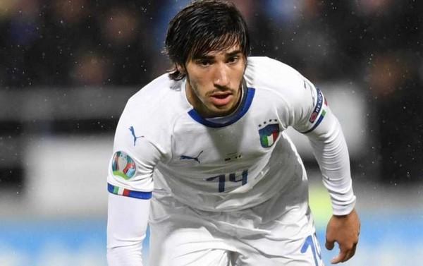 """Italia-Liechtenstein, il debutto del """"bresciano"""" Tonali in Nazionale"""