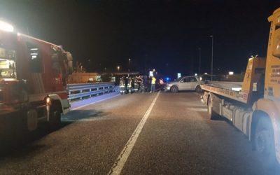Incidente in superstrada a Braone, tre feriti