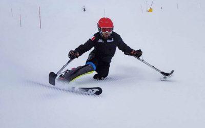 Inizia la stagione sciistica per gli atleti della Polisportiva Disabili