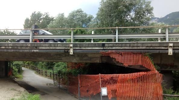 Nuovo limite sul viadotto di Cividate Camuno