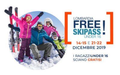 Gli under 16 della Lombardia a lezione di sci gratis