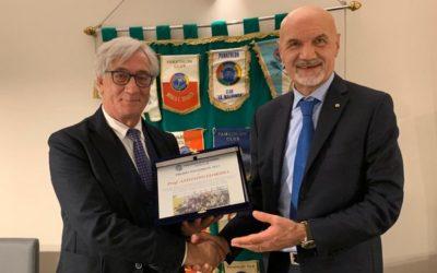 Ad Antonino Floridia il Premio Panathlon 2019