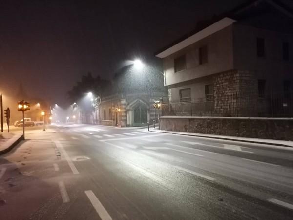 Arriva la neve anche a bassa quota