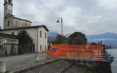 Sale Marasino, i lavori per il nuovo attracco sono in pausa