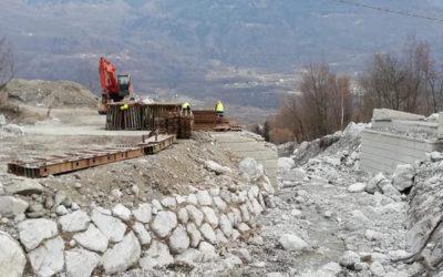 L'intercomunale Cerveno – Ono riaprirà grazie al ponte Bailey della Valpaghera