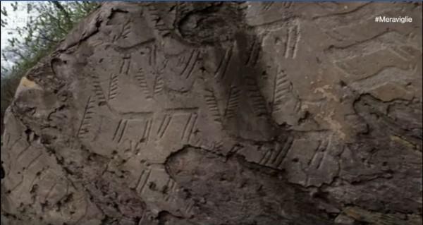 Le incisioni di Capo di Ponte sabato protagoniste di Meraviglie su Raiuno