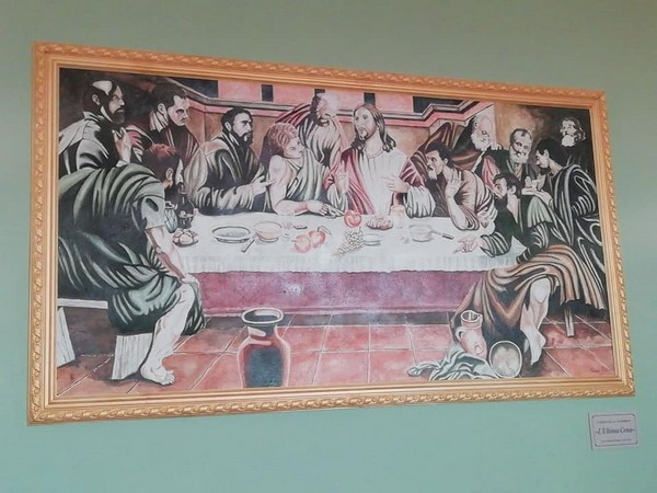 Piamborno, un'Ultima Cena in dono alla parrocchia