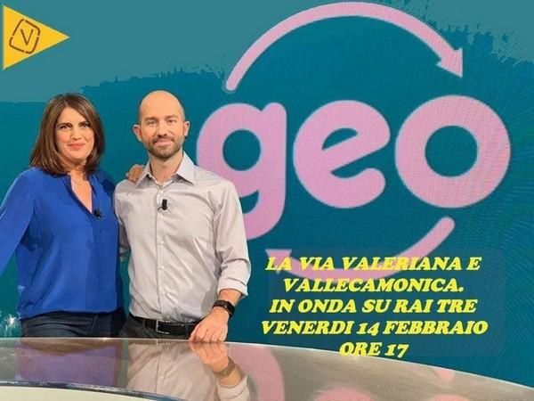 "La Via Valeriana va in tv: se ne parla su Rai3 a ""Geo"""