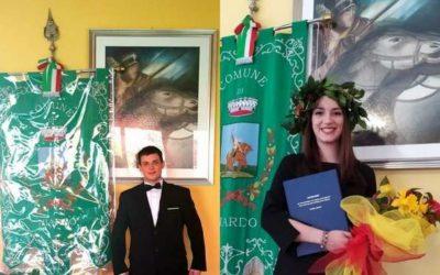 Niardo: Daniele e Federica discutono la tesi in municipio