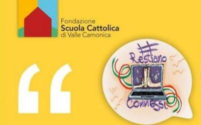 La Fondazione Scuola Cattolica lancia l'iniziativa #RestiamoConnessi
