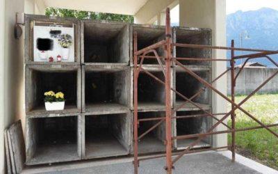 Gratacasolo: si attende l'ampliamento del cimitero, intanto si tampona con sepolture provvisorie