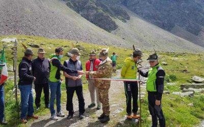 Montozzo, inaugurato il rinnovato Sentiero degli alpini