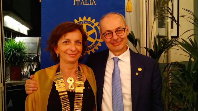 Rotary Club Lovere Iseo Breno, Nicoletta Castellani è la nuova presidente