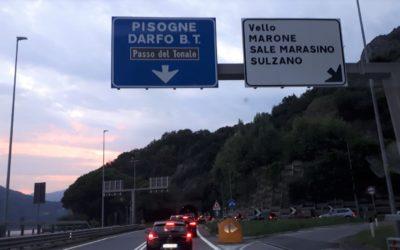 Incidente in galleria a Marone, venerdì nero sulla provinciale 510 del Sebino