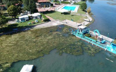 A Iseo la prima isola ecologica per lo stoccaggio delle alghe dell'intera provincia di Brescia