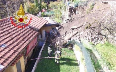 Smottamento a Gorzone, famiglia evacuata